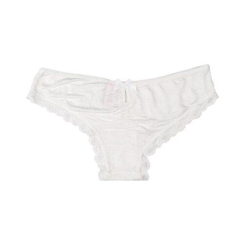Victoria's secret panties white lacework back