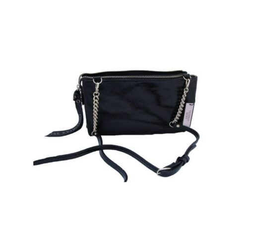 Victoria's secret black bag back fit size