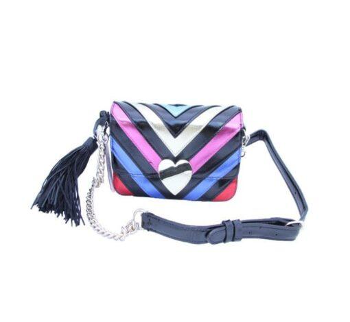 Victoria's secret colorful bag front fit size