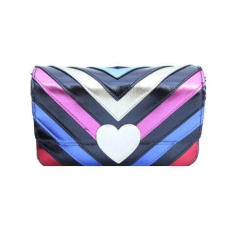 Victoria's secret colorful bag front without strip fit size