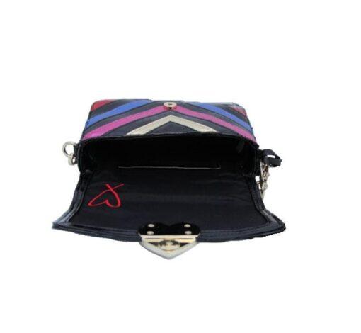 Victoria's secret colorful bag open fit size