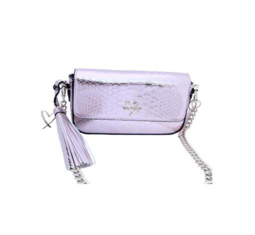 Victoria's secret pink bag front fit size