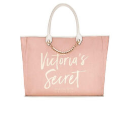 Victoria's secret light pink gold woman bag