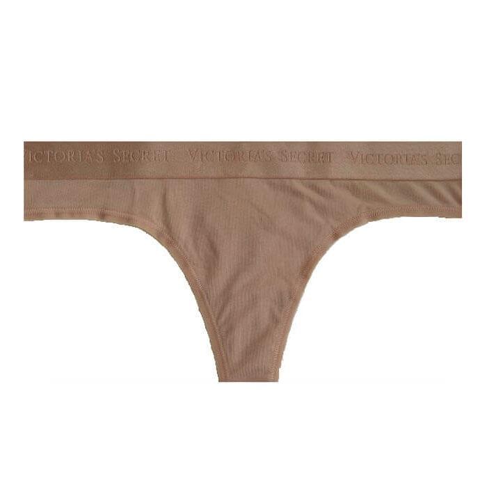 Victoria's secret thong panties nude front