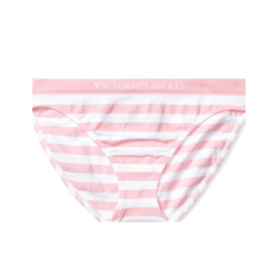 Victoria's Secret classic panty pink white