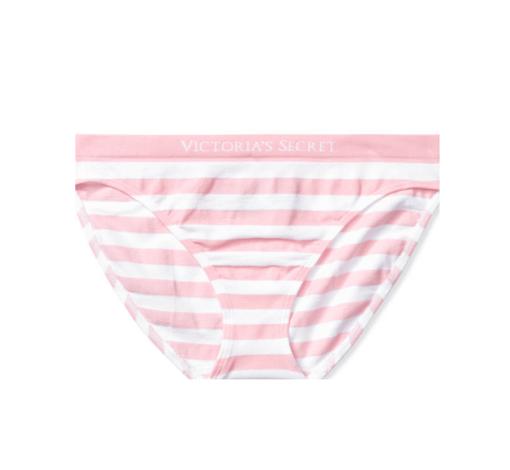 Victoria's Secret classic panty pink white