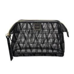 Victoria's secret black transparent bag front